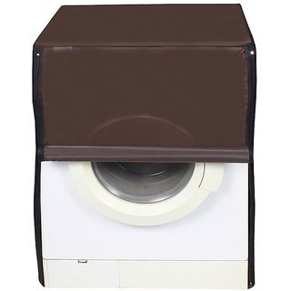 Dream Care Coffee Waterproof & Dustproof Washing Machine Cover For Front Load 8.5Kg Model
