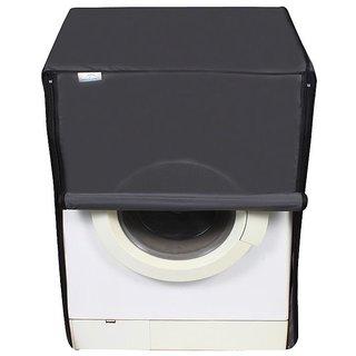 Dream Care Dark Gray Waterproof  Dustproof Washing Machine Cover For Front Load Siemens IQ 300 WM10K168IN, 7 Kg Washing Machine