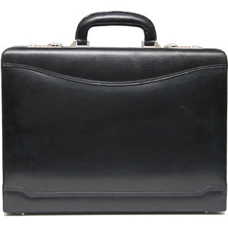 Comfort 17 inch Pure Leather Briefcases Come Office Bag for men and women EL86