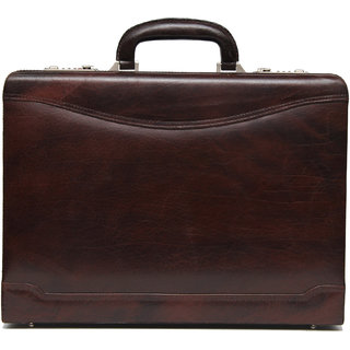 Comfort 17 inch Pure Leather Briefcases Come Office Bag for men and women EL87