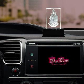 Buy Laser Engraving Car Dashboard Idol With Led Lights Annai