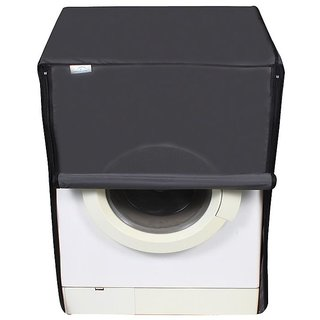 Dream Care Dark Gray Waterproof  Dustproof Washing Machine Cover For Front Load Haier HW80-BD1626 8 kg,  Washing Machine