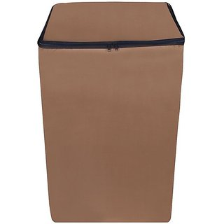 Dreamcare beige Waterproof & Dustproof Washing Machine Cover for WHIRLPOOL Top loading fully automatic all models