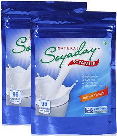 Soyaday Soya Milk Natrual Instant Powder 400 G (200 g x 2 Packs)