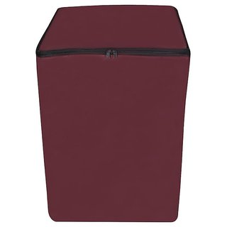 Dream Care Maroon Waterproof & Dustproof Washing Machine Cover for Fully Automatic 6.5Kg Model
