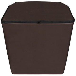 Dream Care Coffee Waterproof  Dustproof Washing Machine Cover For semi automatic   Kelvinator KT6012TRFAU 6 Kg,   Washing Machine