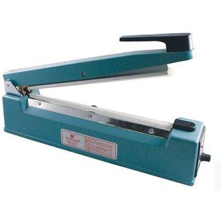 S-TECH 12 Inch Heat Sealing Machine Metal body for Plastic Packaging Free Element Grip