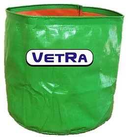 HDPE Poly grow bag 5 Bags for terrace garden (12''x12'') PACK OF  5 Bags