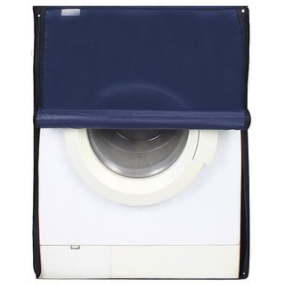 Dream Care Navy Blue Waterproof  Dustproof Washing Machine Cover For Front Load Haier HW80-BD1626 8 kg,  Washing Machine
