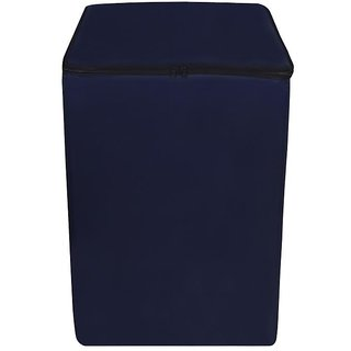 Dream Care Navy Blue Waterproof  Dustproof Washing Machine Cover For Whirlpool STAINWASH ULTRA (8 kg) fully automatic 8 kg washing machine