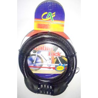 MOCOMO Heavy Duty Multi-utility Chain Cable Lock for Bike/Cycle etc.