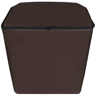Dream Care Coffee Waterproof  Dustproof Washing Machine Cover For semi automatic  Kelvinator WM KS7363TR-FAU 7.3 Kg,   Washing Machine