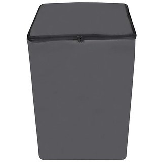 Dream Care Dark Gray Waterproof  Dustproof Washing Machine Cover For Godrej GWF 650 FDC fully automatic 6.5 kg washing machine