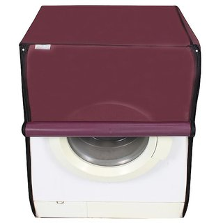 Dreamcare dustproof and waterproof washing machine cover for front load 6KG_LG_F108BWDL2_Maroon