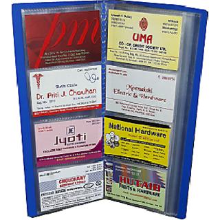 buy sps visiting card keeping folder with jacket 480 holder