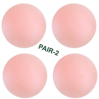 IndiRocks Women Skin Reusable Thin Silicone Nipple Cover Pasties Pack Of 2