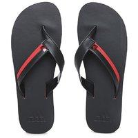 6905fd29c80aec Adidas Black   Red Inert Chevron Print Flip Flops for Men online in ...