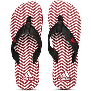 b65036c0283062 Buy Adidas Men Black Red Inert Flip-Flops Online - Get 47% Off