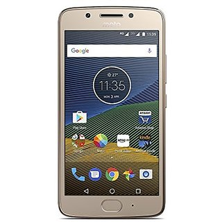 Moto G5 16GB Fine Gold Mobile