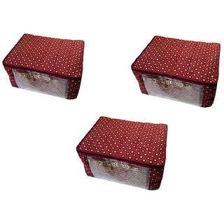 Pack Of 3 Pcs. Designer Multipurpose Saree Cover