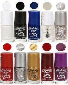 Fashion Bar Gel Finish Exclusive Nail Polish Set