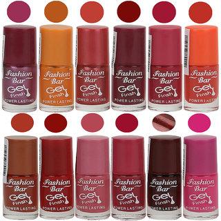 Fashion Bar Nail Polish Exclusive Color Range Set of 12