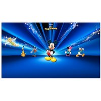 Mickey Mouse Cartoon Vinyl Home Decor PVC Wall Sticker ( 91 Cms X 61 Cms)
