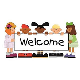 Welcome Door  Vinyl Home Decor PVC Wall Sticker ( PVC Plastic Sticker , 31cm X 13 Cm)
