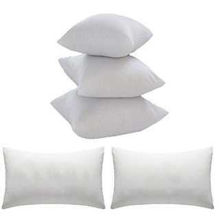 Z Decor Vacuum Combo 2 Pillow  3 Cushion 16 Inches Filler Inches