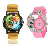 Stylish Round Dial Multi Analog Watch - For Men,Women