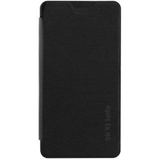 Flip Flap Cover case Pouch for LAVA IRIS X1 SELFIE