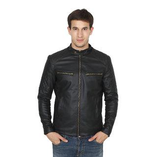 Fashion Mantra Men's Black Jacket