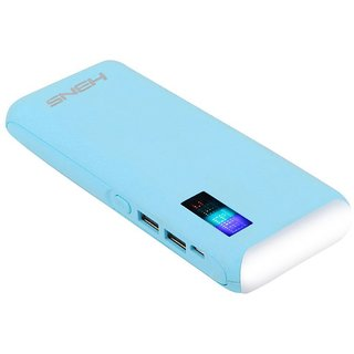 HBNS Top Light With Percentage 20000 Mah Power Bank (Blue)
