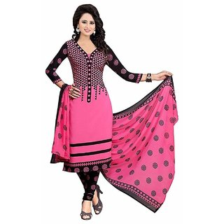 Buy Bollylounge Womens Printed Unstitched Regular Wear Salwar Suit