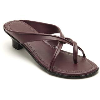 Plutos Women'S Maroon Heels