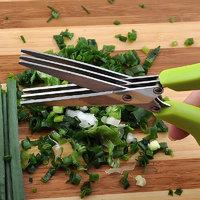 3 Blades Kitchen Scissors / Vegetable Chopper - SS - Kitchen Essentials