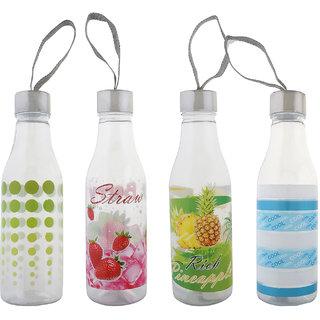 Aarushi Polypropylene Water Bottle Pack Of 4 (1000 Ml Each)