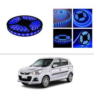 AutoStark 5 Meters Waterproof Cuttable LED Lights Strip Roll-Blue- Maruti Suzuki Alto-K10