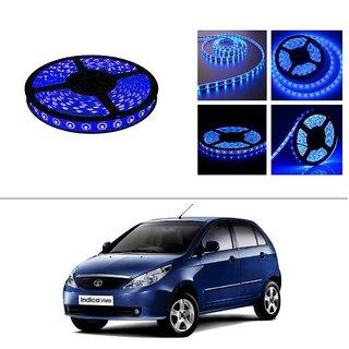 AutoStark 5 Meters Waterproof Cuttable LED Lights Strip Roll-Blue- Tata Indica Vista