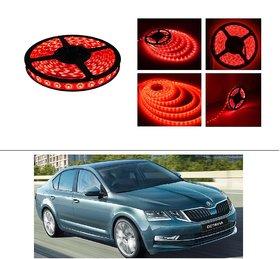 AutoStark 5 Meters Waterproof Cuttable LED Lights Strip Roll-Red- Chevrolet Tavera