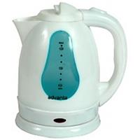Kettle - Electric Kettle - Plastic - White Color - 1.5 L - Kithcen Essentials