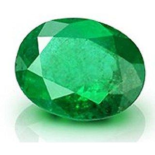 Lab Certified 6.52 Carat/7.25 Ratti Colombian Panna Emerald Ovel Premium Quality Gemstone.