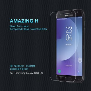 3iVision Samsung Galaxy J7 2017 Flexible Tempered Glass Screen Protector