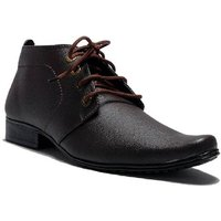 Dia A Dia Men's Brown Open Derby Formal Shoes