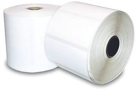 ORIGINAL AVERY CHROMO BARCODE LABLES, 50mmX25mm, 1UP Across, 1 inch Core, 2000 LABELS IN 1 ROLL, total 10000 Labels pack 2000x510000