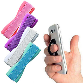 Finger Grip Phone Holder for Mobile, Tablet  Ipad