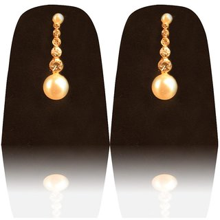 Commercant Gold Plated Gold Studs For Women
