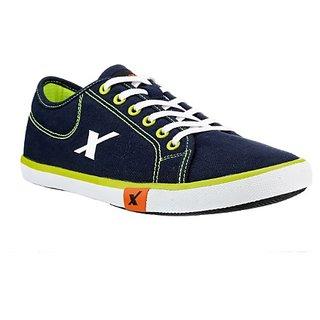 50825be7d7 Buy SC0283G SPARX Men Canvas Shoes (SM-283 Navy Blue) Online   ₹899 ...