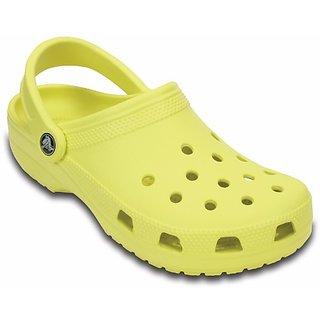 Crocs Men Yellow Clog