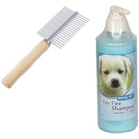 Royal Pet Dog Comb With Tick  Flea Dog Shampoo By Jainsons - 200 ML